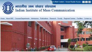 Indian Institute of Mass Communication, IIMC Jobs, IIMC Recruitment 2019, Govt jobs, Delhi Jobs,Professor, Associate Professor, Assistant Professor