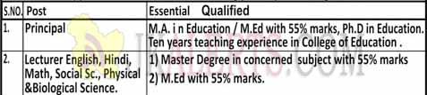 Galaxy College of Education Jobs