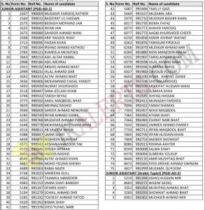 kashmir university Notification