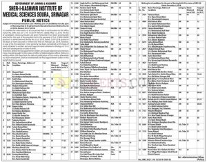 skims Notification Selection Lists Nursing aids