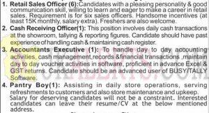 Tanishq Job Recruitment 2019 various posts.