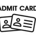 Admit cards