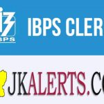 IBPS Clerk Recruitment 2020, Bank Jobs J&K