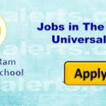 The Shri Ram Universal School Jammu Jobs Recruitment 2019.