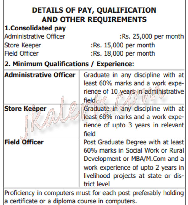 J&K Red Cross Society Jobs Recruitment 2020