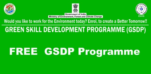Free Green Skill Development Programme GSDP for J&K Students.