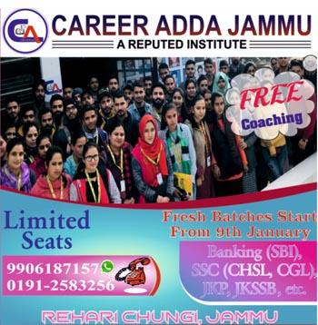 Career Adda Jammu 2020
