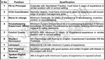 Banyan International School, BIS Jammu, BIS Jammu Jobs,  BIS Jammu Recruitment 2020, Teaching Jobs, Non Teaching Jobs, Private Jobs , Jammu Jobs