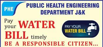 J&K PHE ,online water bill payment,PHE Bill Payment methods, PHE Bill Payment steps,PAY PHE WATER BILL ONLINE.,Pay your Water Bill OFFLINE, jkphedwaterbilling.com