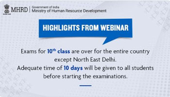 No examination, class 10th ,students ,nationwide except ,students ,North-East Delhi