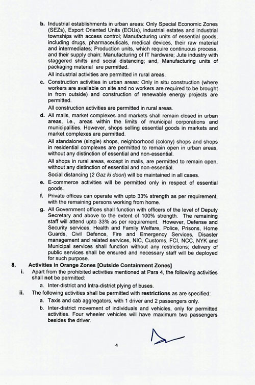 New Guidelines for Lockdown3 measures to fight Covid_19.