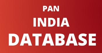 PAN, India, Database.