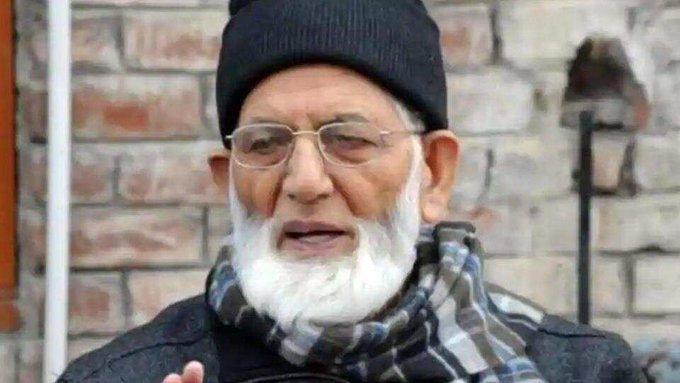 Senior Hurriyat leader Syed Ali Shah Geelani resigns.