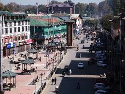 Srinagar market