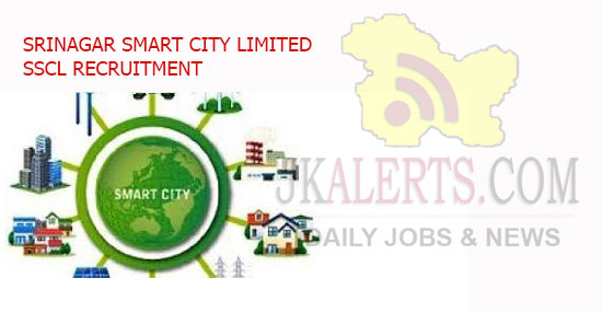 Srinagar Smart City Ltd Recruitment 2021.