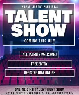 SIKH Talent Hunt, Komal Library Srinagar Kashmir,