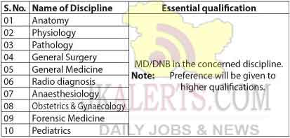 GMC Anantnag Jobs Recruitment 2020.