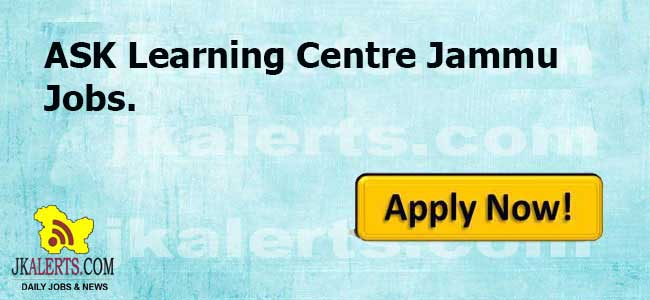 Graphic Designer, Counsellor, Customer Care Executive Jammu Jobs.
