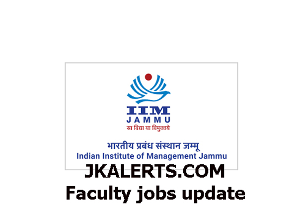 Indian Institute of Management Jammu Jobs, IIM Jammu  Professors Jobs, IIM Jammu  Associate Professors jobs, IIM Jammu  Assistant Professors Jobs,Indian Institute of Management Jammu Jobs, IIM Jammu Faculty Job recruitment 2020, IIM Jammu Faculty Jobs, IIM Jammu jobs, IIM jammu Recruitment , IIM