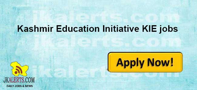 Kashmir Education Initiative KIE General Manager job