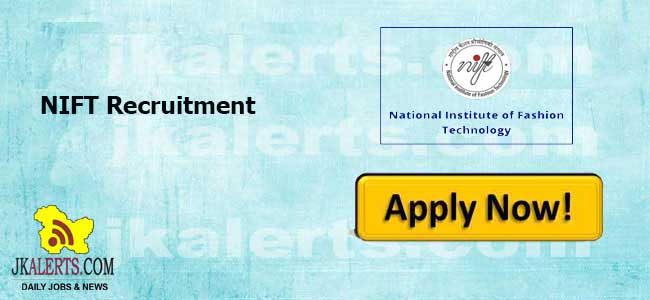 NIFT Srinagar Jobs, NIFT Srinagar Recruitment , NIFT Srinagar Latest jobs, NIFT Srinagar Faculty Jobs