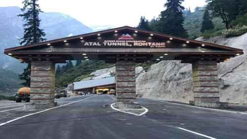 PM to dedicate ,nation world's longest high altitude, Atal Tunnel on Oct 3.