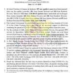 Jammu Kashmir District wise Covid19 Update 11 Nov 2020.
