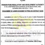 PFRDA Jobs , PFRDA Recruitment 2020, Junior Economist Jobs in PFRDA, India Jobs