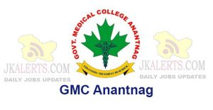 GMC Anantnag Selection List of Anesthesia Assistants/Technicians.