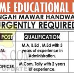 Principal, Accounts officer Jobs in Kashmir.