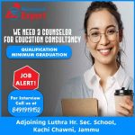 Counselor Required for Education Consultancy in Jammu.