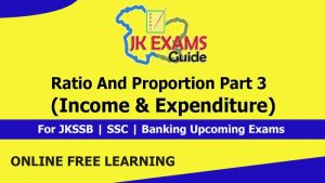 Ratio and Proportion Part 3 (Income & Expenditure).