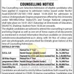 SKUAST Kashmir Counselling cum Selection/Admission Notification for Various Programmes