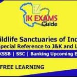 Wildlife Sanctuaries of India with Special Reference to J&K and Ladakh.
