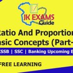 Ratio & proportion basics (Part 2) FREE JKSSB, SSC, Banking Online Classes.