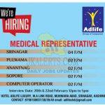 Medical Representative Jobs in Kashmir