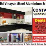 Siddhi Vinayak Steel Aluminium and PVC Jammu.