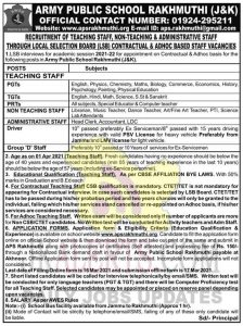 APS Rakhmuthi Jobs Recruitment 2021.