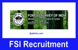 Forest-Survey-of-India-Jobs-Recruitment-2021.