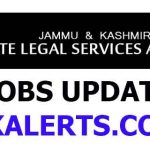 JKLSA notification regarding Junior Assistants Exam.