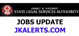 JKLSA notification regarding Junior Assistants Exam.