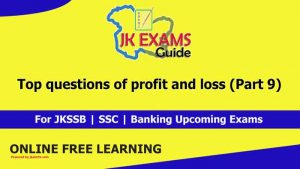 Top questions of profit and loss (Part 9)