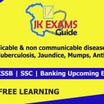 Communicable & non communicable diseases. | FREE Online Classes for upcoming JKSSB Exams. . Communicable & non-communicable diseases (Part 3) | Tuberculosis, Jaundice, Mumps, Anthrax. Part 3