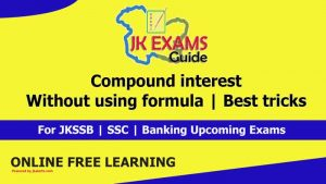 Compound interest | without using formula Free online Classes