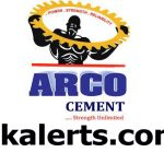 ARCO Cement Jobs Recruitment 2021.