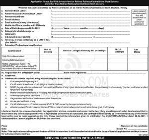 Northern Railway Jobs Recruitment 2021.