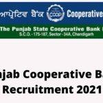 Punjab State Cooperative Bank jobs recruitment 2021.