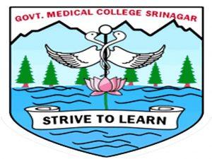 GMC Srinagar Interview Norification