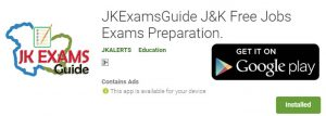 Free MCQ for JKSSB Exams and study material JK Exams Guide.