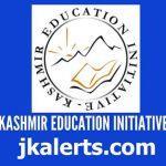 Kashmir Education Initiative (KEI) Jobs.